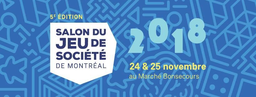 Salon Jeux de Société Montréal 2018